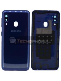 Tapa de batería Samsung Galaxy A20e A202 azul