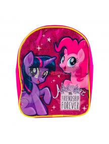 Mochila My Little Pony glitter 25cm
