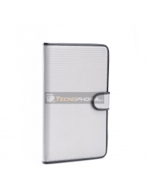 "Funda libro tablet Fancy universal 9"" - 10"" gris"