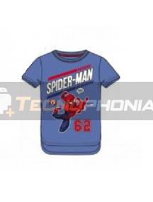 Camiseta niño manga corta Spiderman - 62 6 años 116cm