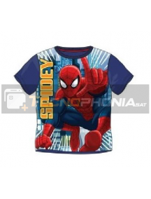 Camiseta niño manga corta Spiderman - Spidey 8 años