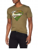 Camiseta adulto manga corta Superman verde Talla XL