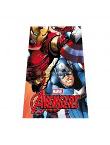 Manta polar Los Vengadores - Ironman y Capitán América