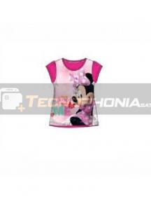 Camiseta niña manga corta Minnie - Me Talla 3