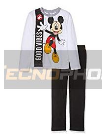 Pijama manga larga niño Mickey Mouse - Good Vibes 5 años 110cm
