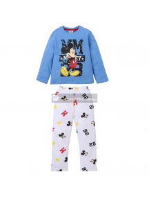 Pijama manga larga niño Mickey Mouse - MM 8 años 128cm