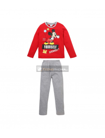 Pijama manga larga niño Mickey Mouse - Yourself 5 años 110cm