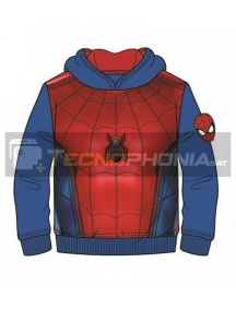 Sudadera Spiderman azul - roja 4 años
