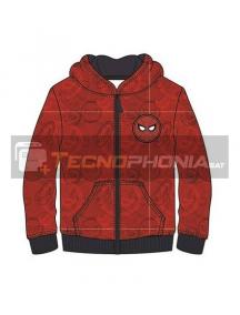 Sudadera Spiderman roja estampada 10 años