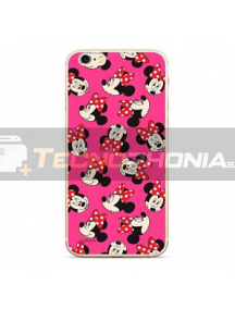 Funda TPU Disney Minnie 019 Samsung Galaxy J6 2018 J600 rosa