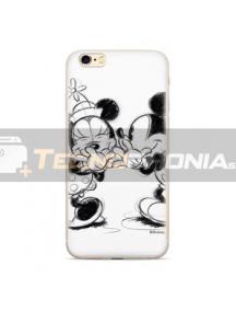 Funda TPU Disney Mickey & Minnie 010 Samsung Galaxy J4 Plus J415