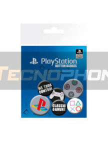 Pack de 6 chapas PlayStation