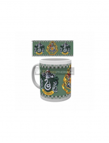 Taza cerámica 325ML Harry Potter - Slythering