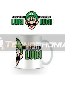 Taza cerámica Super Mario - Luigi Here we go!