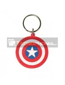 Llavero de goma Capitán América