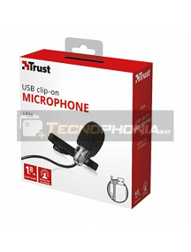 Micrófono de solapa Trust Lava