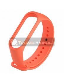 Correa Xiaomi Mi Band 3 naranja ORIGINAL
