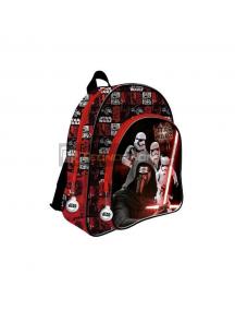 Mochila Star Wars Disney Kylo Ren 2 cremalleras 41x33x12cm