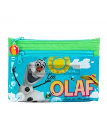 Estuche portatodo Frozen - Olaf 23x16x3cm