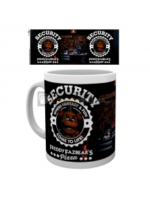 Taza cerámica 300ml Five Nights at Freddys - Security