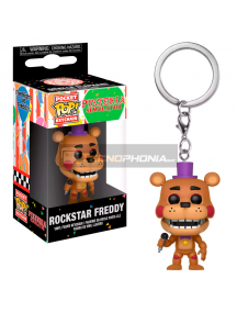 Llavero Funko Pocket POP! Five Nights altFreddys 6 - Pizza Sim Rockstar Freddy