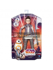 Figura Princesa Rey of Jakky y BB-8 Star Wars