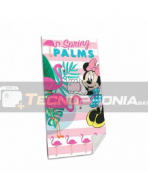 Toalla de playa Disney Minnie Mouse - Flamencos