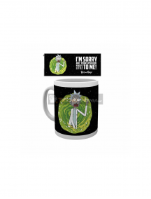 Taza cerámica 325ML Rick and Morty - Your opnion