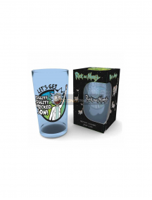 Vaso de cristal 500ml Rick and Morty - Riggity