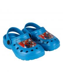 Zuecos infantil Spiderman azul