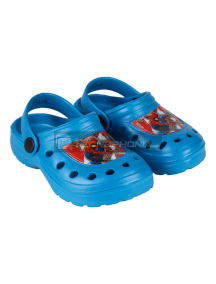 Zuecos infantil Spiderman azul Talla 30 - 31