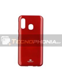 Funda TPU Goospery Samsung Galaxy A40 A405 roja
