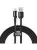 Cable Baseus CALGH-C01 USB - Lightning 2m negro