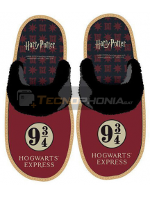 Zapatilla con suela adulto de Harry Potter Talla 40 - 41