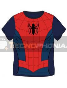 Camiseta infantil manga corta de Spiderman Talla 4