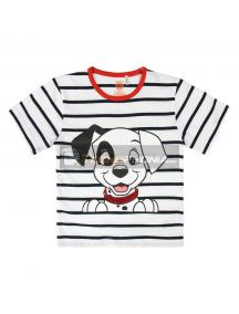 Camiseta algodón premium de Clasicos Disney 101 Dalmatas Talla 2 - 3