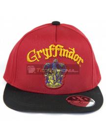 Gorra Harry Potter - Gryffindor burdeos - negra 54cm
