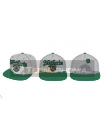 Gorra Harry Potter - Slythering gris claro - verde 56cm