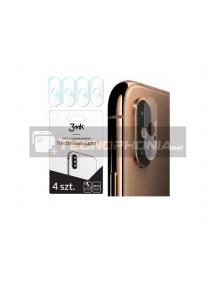 Lámina de cristal templado flexible 3MK para lente de cámara iPhone XS Max