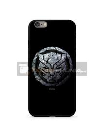 Funda TPU cristal Marvel 015 Black Panther iPhone 7 Plus - 8 Plus