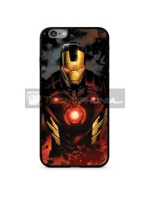 Funda TPU cristal Marvel 023 Ironman iPhone 7 Plus - 8 Plus