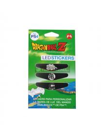 Adhesivos para led de mando PlayStation 4 Dragon Ball