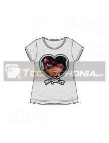 Camiseta niña manga corta Lady Bug - Be Miraculous 8 años