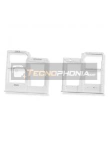 Zócalo de SIM + SD Samsung Galaxy A20e A202 - A40 A405 blanco