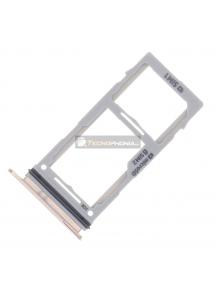Zócalo de SIM + SD Samsung Galaxy S10 Plus G975U blanco MODELO USA