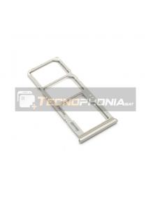 Zócalo de SIM + SD Samsung Galaxy A50 A505 - A70 A705 blanco
