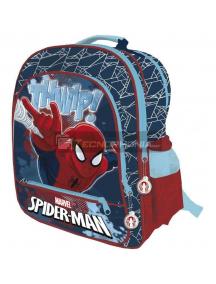 Mochila Spiderman 4 cremalleras 41cm