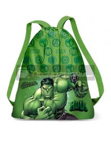 Saco Mochila Hulk Marvel 33x27x1cm