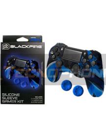 Funda de silicona Blackfire para Mando PS4