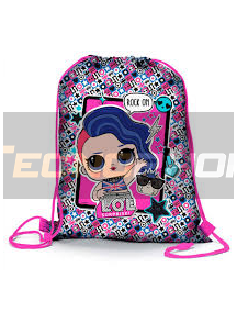 Saco Mochila LOL Surprise - Rock & Roll 39cm